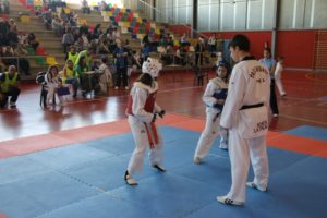 Taekwondo en San Juan del Puerto.