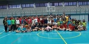 Clausura de la temporada de voleibol en Gibraléon.