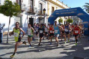 Medio maraton en La Palma del Condado.