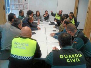 Imagen de la Junta Local de Seguridad celebrada hoy
