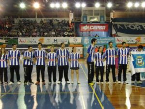 Recreativo IES La Orden en la gran final ante Rinconada.