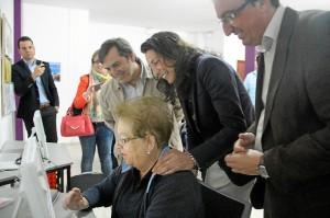 Loles Lopez visita costa Huelva-18