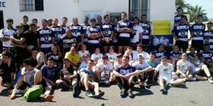 Varios equipos de Rugby en el Torneo Solidario de Isla Cristina.