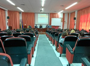 alcalde La Palma en la UHU-1-