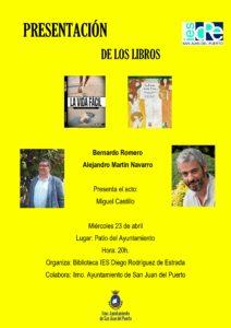 cartel presentacion libros