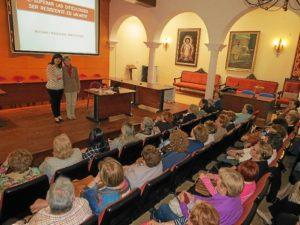 rosario paniagua con la concejala de BSocial