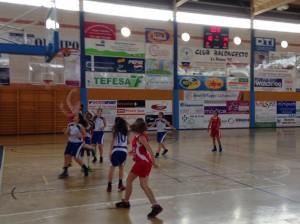 Triangular de baloncesto femenino en La Palma del Condado.