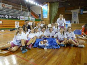 Equipo cadete femenino del Conquero Huelva.