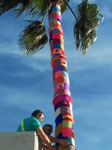 El Urban Knitting llega a La Palma del Condado