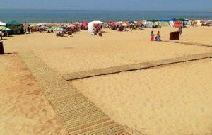 playa parador mazagón