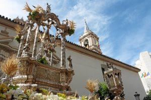 Imagen de archivo de la procesión del Corpus en Huelva.