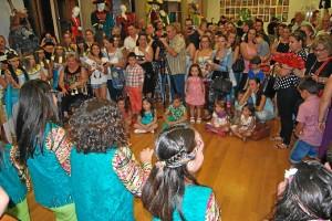 Las actuaciones se sucedieron en el Museo del Carnaval de la planta primera