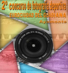 Cartel del II concurso de fotografía Eurociudad del Guadiana.