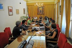 20140725 Junta Seguridad Feria Valverde 2014