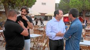 Alcalde y concejal de Playa dialogan con responsables del Mercado