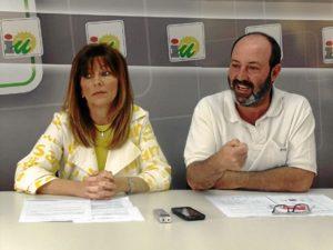 Carmen Centeno y Pedro Jimenez