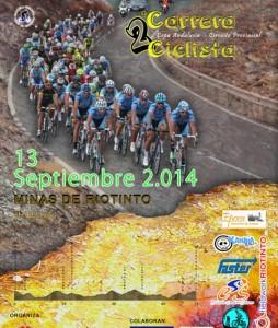 Cartel de la Carrera Ciclista en Riotinto.