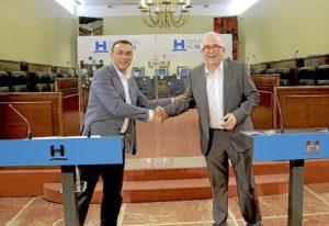 Convenio con consejeria economia para Huelva Empresa 01