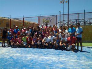 Torneo de pádel en Aljaraque.