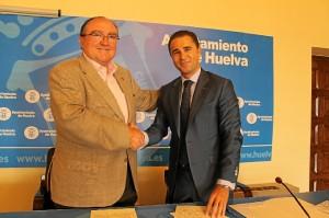 Firma convenio Ayto-Banco Alimentos