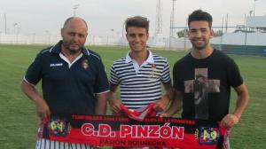 Jairo y Pedro, nuevos fichajes del CD Pinzón.