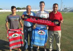 Paco y Nene, nuevos jugadores del CD Pinzón.