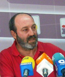 Pedro Jimenez, portavoz de IU en el Ayuntamiento de Huelva