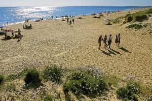 Playa de Punta Umbria (Huelva).