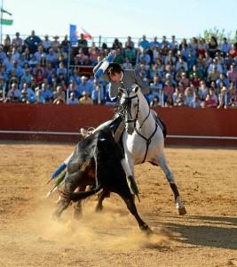 Andrés Romero, que ha cortado dos orejas en Almonte.