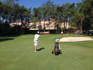 Torneo Ibérico de golf en Islantilla.