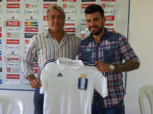 Braulio junto a Fernando Iturbe.