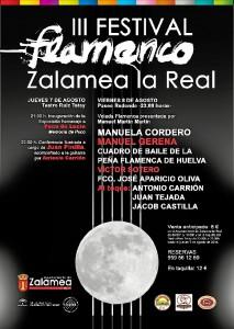 CARTEL FESTIVA FLAMENCO 2014 b CHICO