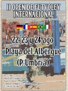Open Internacional de futvoley playa en Punta Umbría.
