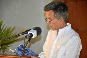 Diego Mesa, autor.