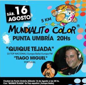 Mundialito Color en Punta Umbría.