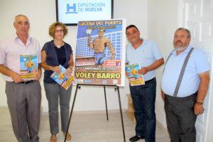 Presentación del XIV Campeonato de España de voley barro