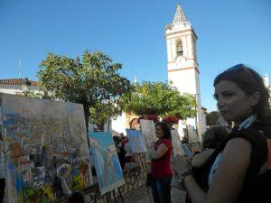 Pintura al aire libre