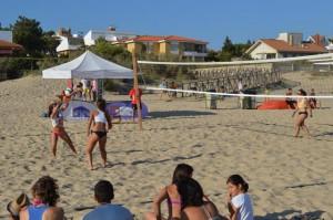 Voley playa en El Portil.