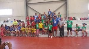 Jornadas de atletismo en San Juan del Puerto.