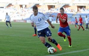 Rubén Mesa debutó esta temporada con el Recreativo de Huelva. (Espínola)
