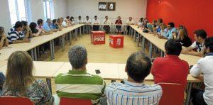 21.10.14 Foto ejecutiva local PSOE Huelva