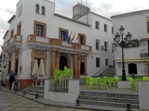 Ayuntamiento de Aroche, donde se instalará una de las oficinas para cubrir municipios serranos.