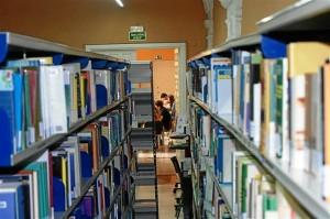 Biblioteca. Estanterias