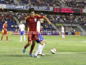 Pedro Ríos, autor de un nuevo gol ante el Tenerife. www.lfp.es)