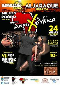 Cartel Tango x Africa Aljaraque 2014