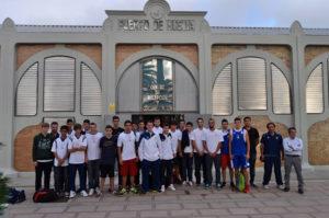 Visita del Ciudad de Huelva a la Autoridad Portuaria.