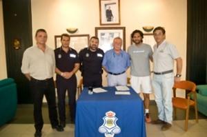Convenio entre el Real Club Recreativo de Tenis y Huelva 2016.