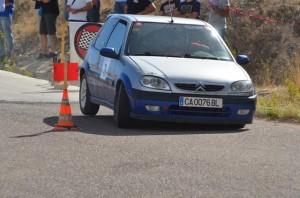 Campeoanto de automovilismo en Nerva.