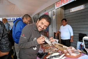 Esteban Tapia Chef ecuador encuentro cocina iberoamericana