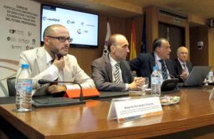 Javier Tebas, en el Curso de especialista universitario en Dirección Económica y Financiera del Fútbol Profesional.
